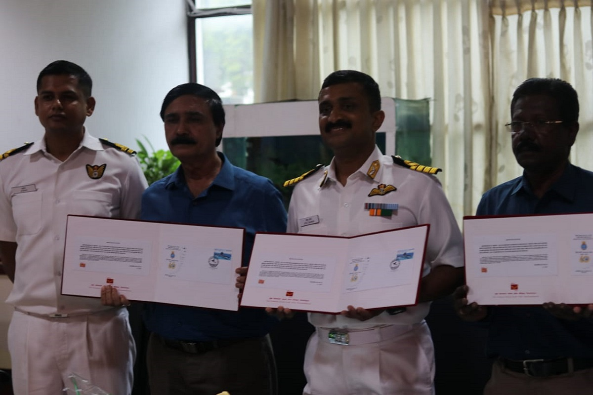 Indian Navy's oldest Naval Air squad celebrates diamond jubilee