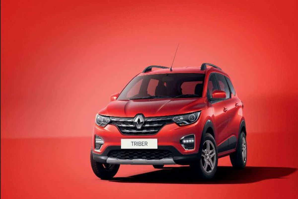 Renault Triber colour options look similar to the Kwid's