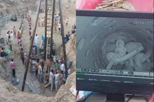 Rescue operation on to save 2-year-old boy from borewell