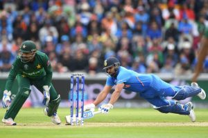 India vs Pakistan World Cup 2019: India on the front foot with Rohit Sharma's 24th ton