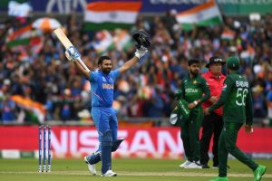 India vs Pakistan World Cup 2019: Rohit Sharma's ton help India post 336 runs in 50 overs