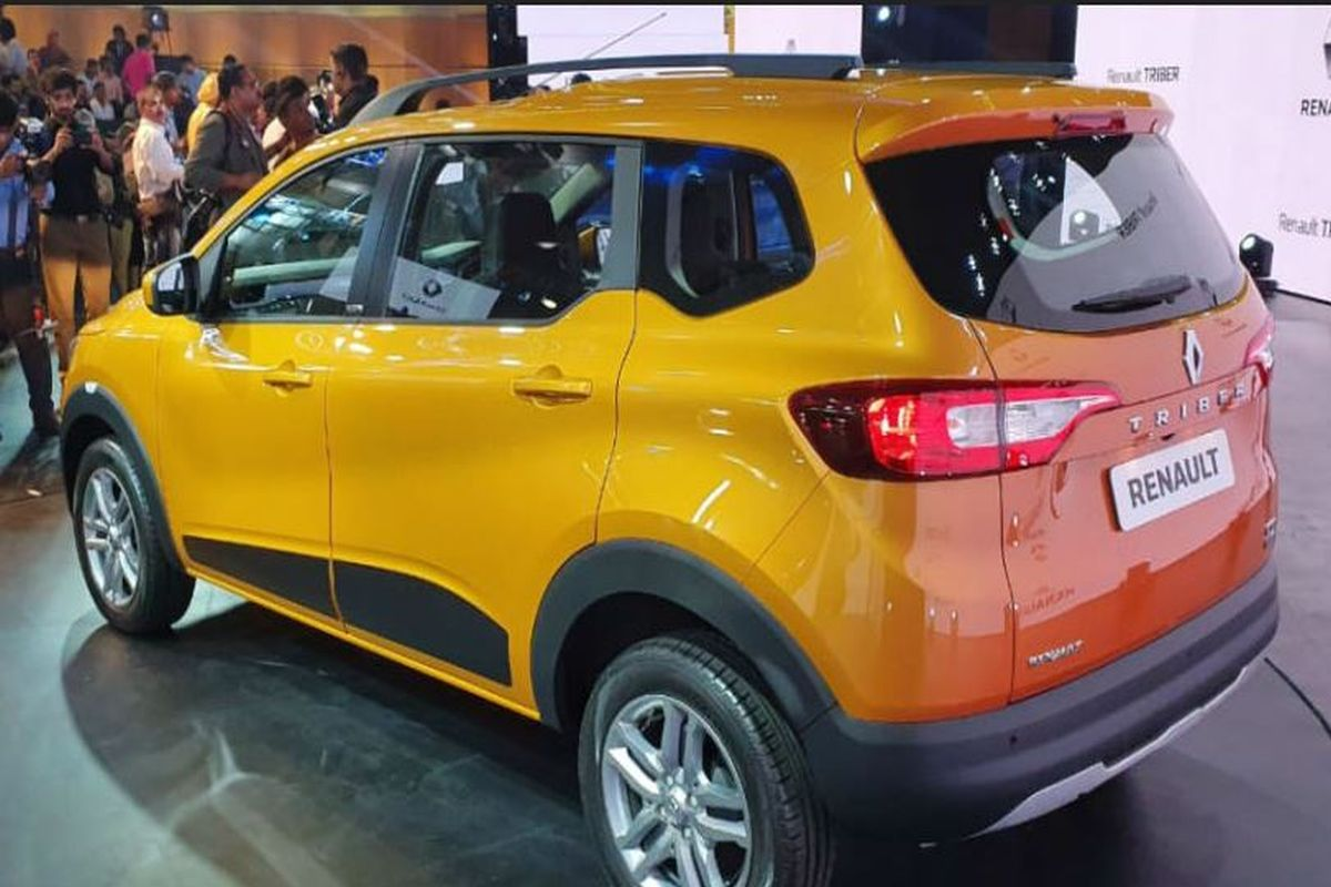 Renault Triber official fuel economy figures unveiled