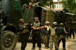 Terrorist killed in gunfight with security forces in J-K's Tral