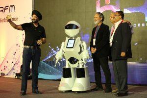 Tech Mahindra introduces AI-based Humanoid in Noida