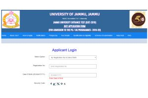 JUET Result 2019 released at juet.in | University of Jammu