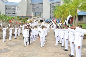 Vice Admiral Dinesh K Tripathi assumes charge as commandant of Indian Naval Academy