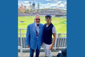 Vijay Mallya spotted watching India versus Australia World Cup match at Oval