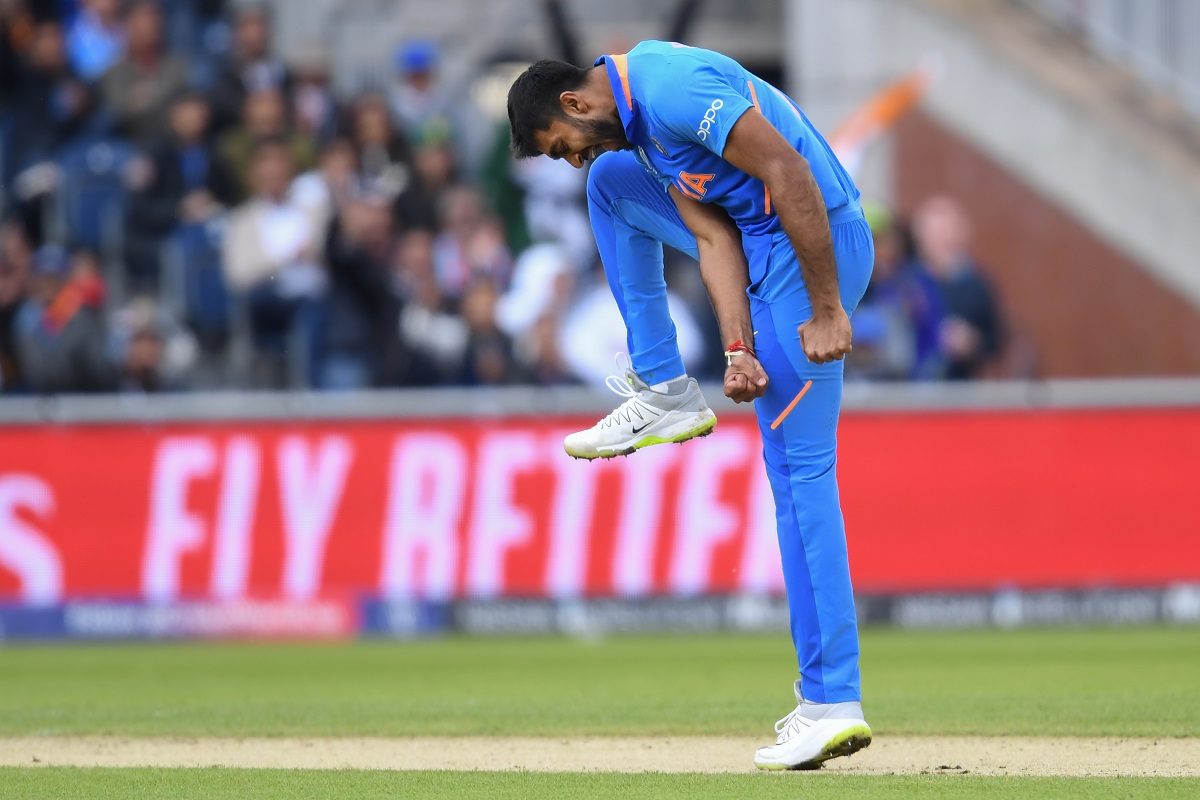 Vijay Shankar joins rare list, becomes first Indian to pick up wicket of his first ball in World Cup