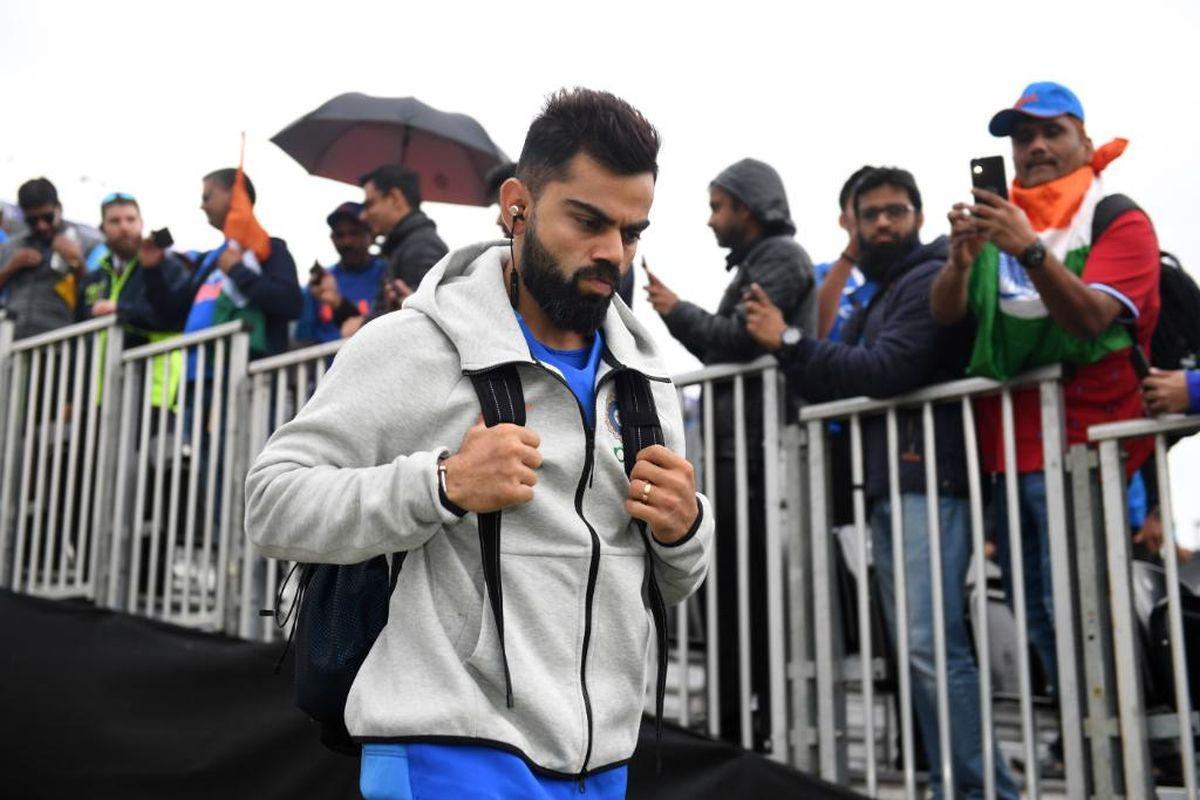 India vs Pakistan World Cup 2019: Virat Kohli walks with earphones in the ground, ICC shares photo