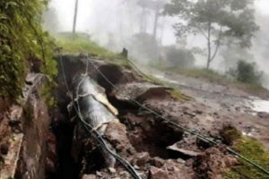 Morcha concern over hydel project water leak