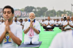 'Yoga for peace, harmony, progress': PM Modi leads International Yoga Day celebrations