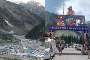 Amidst tight security, first batch of Amarnath pilgrims flagged off from Jammu