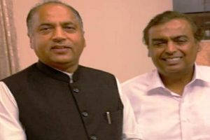 Mukesh Ambani shows interest to invest in Himachal
