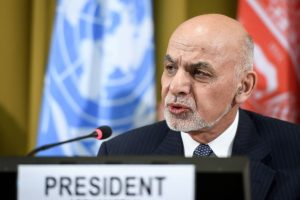 Afghan President Ashraf Ghani arrives in Pakistan