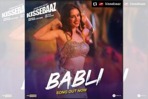 Evelyn Sharma redefines 'Bubli' in upcoming Kissebaaz after Priyanka Chopra's 'Bubli Badmaash'