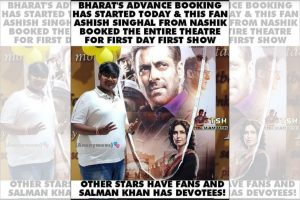Salman Khan's fan books entire theatre for Bharat's 'first day first show'