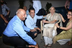 'We are touched by this gesture from Salman Khan', a witness of 1947 partition shares during the special screening of Bharat