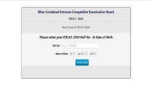 Bihar ITICAT results 2019 declared at bceceboard.bihar.gov.in | Direct link here