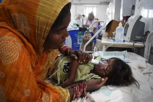 ICU roof collapses at SKMCH in Muzaffarpur where AES affected children are undergoing treatment