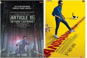 Article 15 does better business than AndhaDhun at box office