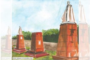 The heritage of British period statues