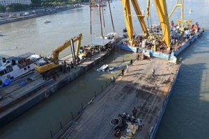 Budapest tragedy: Police lift capsized boat from river; 20 dead, 8 still missing