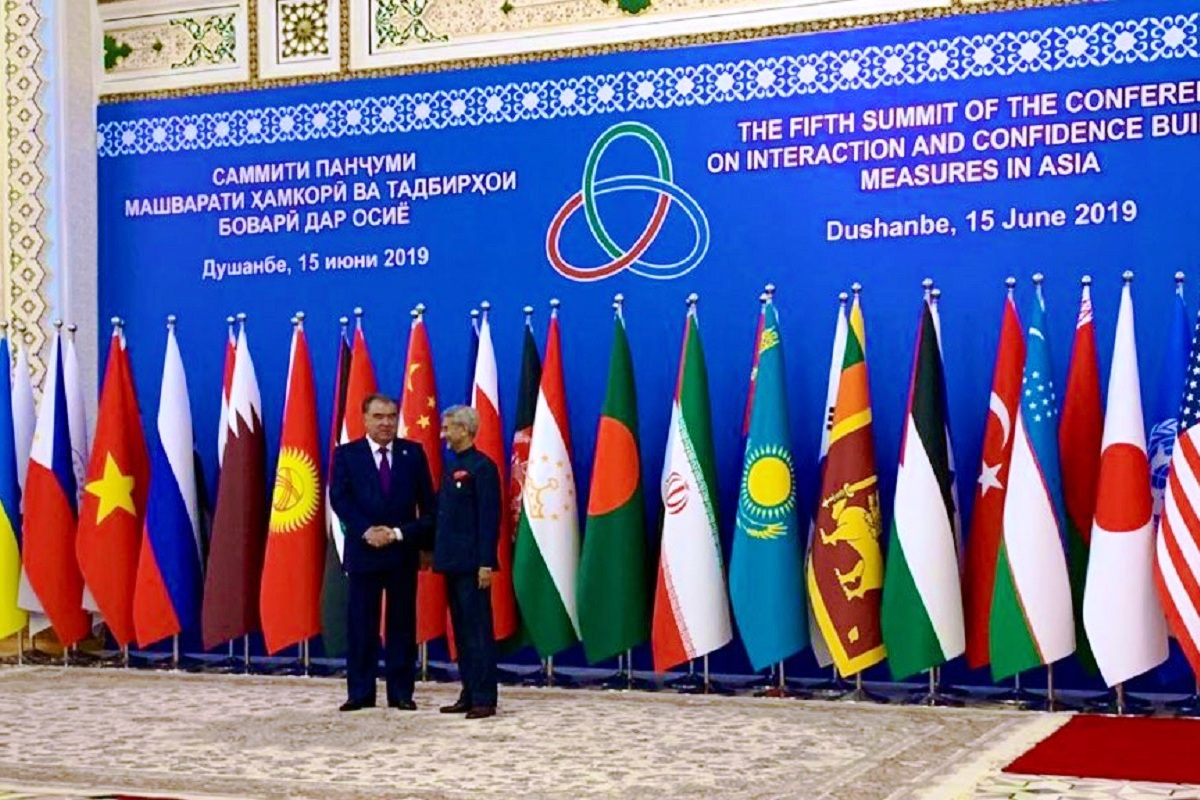 Jaishankar, New Delhi, India, CICA, Tajikistan, Dushanbe, Narendra Modi