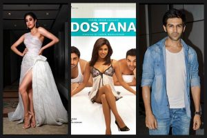 Kartik Aaryan and Janhvi Kapoor to play lead roles in Dostana 2