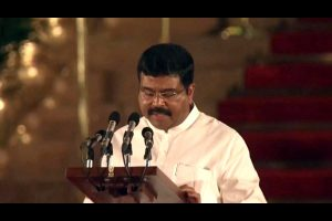 Pradhan slams Congress for alleging BJP-BJD nexus
