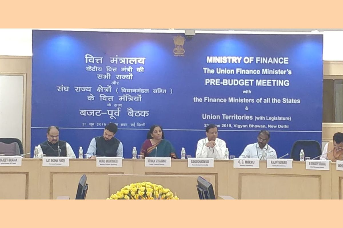 Finance Minister Nirmala Sitharaman on Friday exhorted the states to implement the direction of economic growth set by the Centre and asserted that no goals could be achieved unless the states and the Centre worked in cohesion.