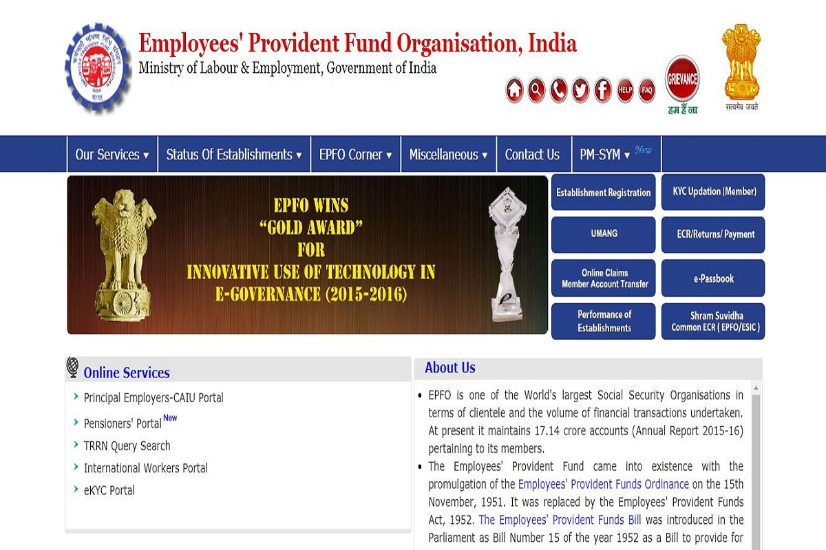 EPFO recruitment 2019: Notification issued for Security