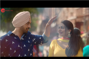 "Diljit Dosanjh, Neeru Bajwa attend destination wedding in Shadaa's new song ""Expensive"""