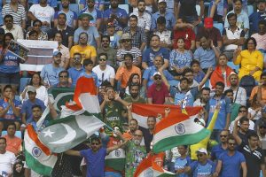 'Spotty showers' may affect much-awaited India-Pakistan clash