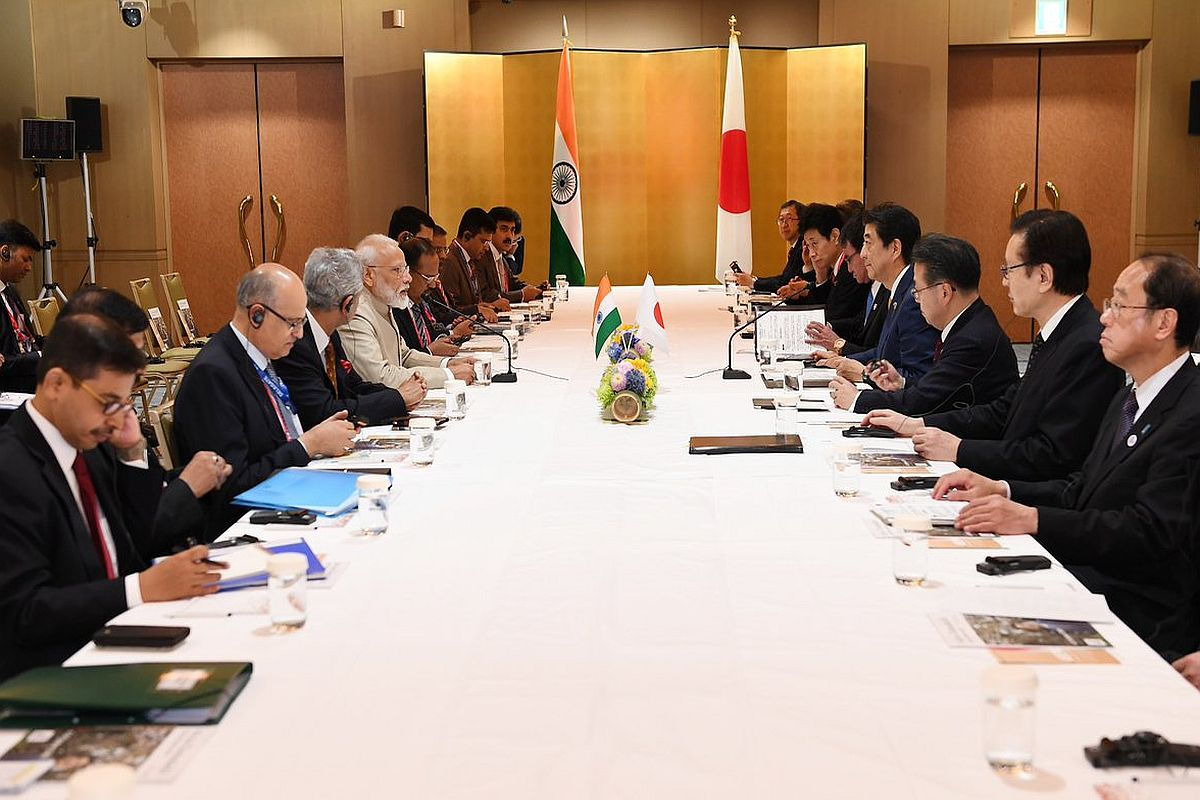 Shinzo Abe, Narendra Modi, G20 Summit