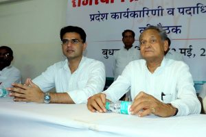 After poll drub, Ashok Gehlot blames Sachin Pilot for son's loss in Rajasthan