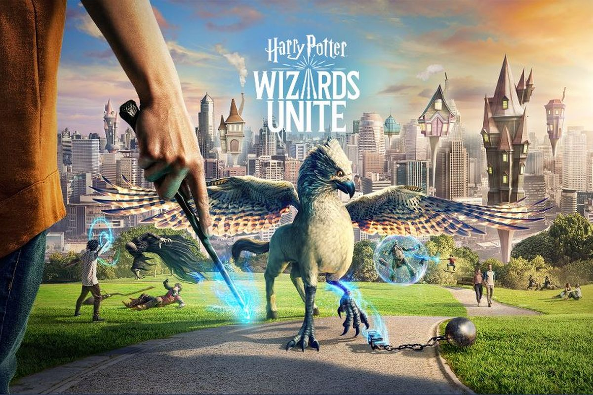 Harry Potter: Wizards Unite, Pokemon Go, AR, Clash of Clans, App Annie, Sensor Tower, JK Rowling, Harry Potter, Niantic, iOS, Android