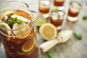 Beat the summer heat with  flavoured Ice Teas
