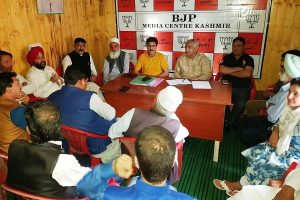 Talks offer of separatists a farce, says BJP