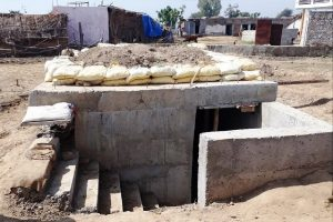 Construction of bunkers sped up in border areas of Jammu