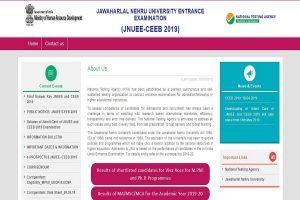 JNU PG Entrance exams results 2019 declared at ntajnu.nic.in | Direct link here