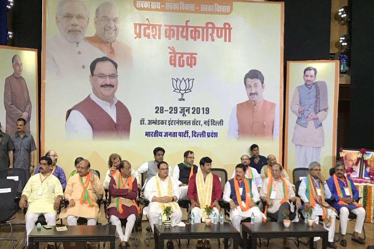 JP Nadda, Arvind Kejriwal, AAP, BJP