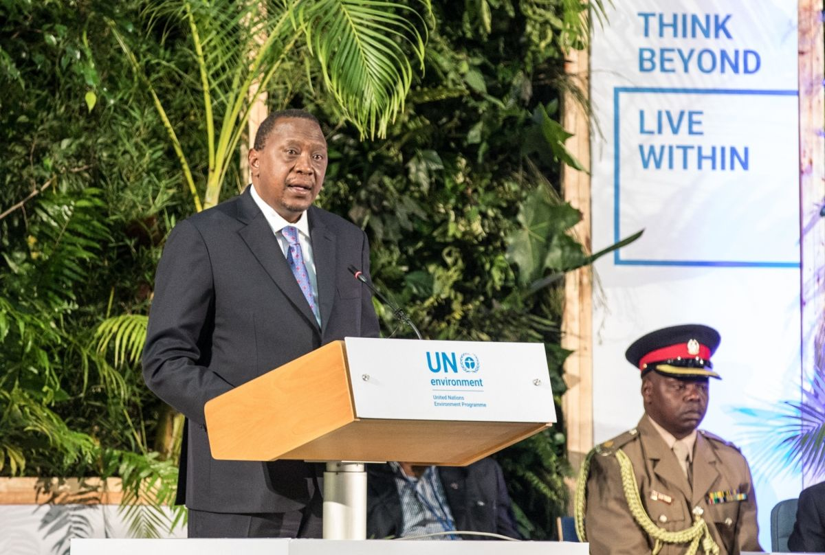 Kenyan President Uhuru Kenyatta on Friday inaugurated the his country's Rivatex East Africa Ltd revamped with Indian help.