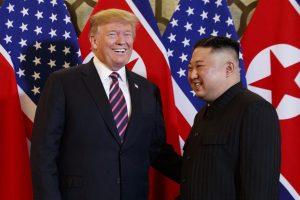 Donald Trump says Kim Jong-un wants to meet him at DMZ