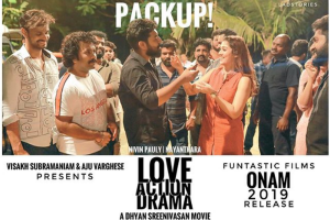 Tamil superstar Nayanthara wraps up shoot of Nivin Pauly starrer Love Action Drama