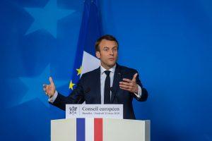 French President Macron backs Angela Merkel for EU post, says if she wants it.