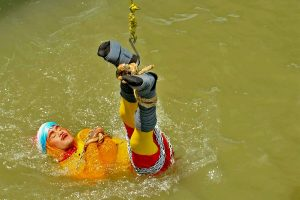 Kolkata magician lowered into river tied, dies underwater after stunt fails
