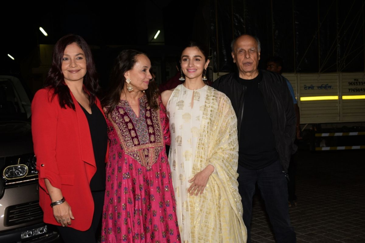 Mahesh Bhatt, Sadak 2, Pooja Bhatt, Alia Bhatt, Shaheen Bhatt, Vishesh Films, Sanjay Dutt, Aditya Roy Kapur
