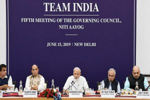 Goal to make India 5-trillion dollar economy by 2024 achievable: PM Modi at Niti Aayog meet