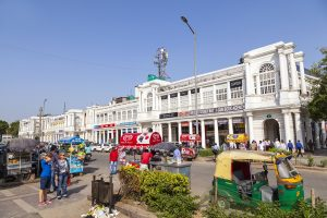 Connaught Place to turn car-free on weekends