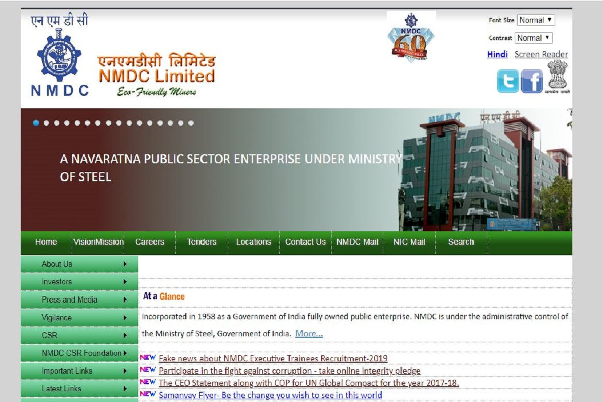 NMDC recruitment 2019: Applications invited for 180 Apprentice posts, register online at nmdc.co.in